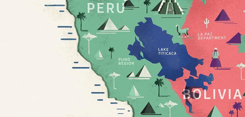 Resultado de imagem para lago titicaca